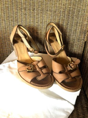 Chloé Strapped High-Heeled Sandals brown-light brown