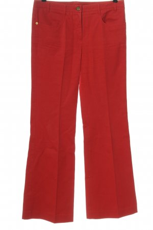 Chloé Flares red casual look