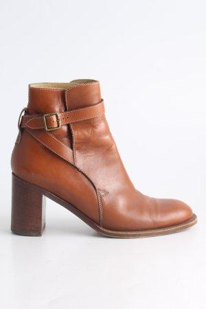Chloé Bottines à enfiler brun style d'affaires
