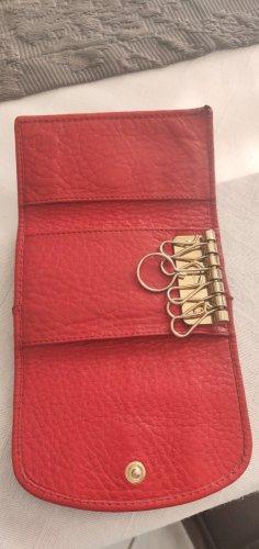Chloé Étui porte-clés rouge