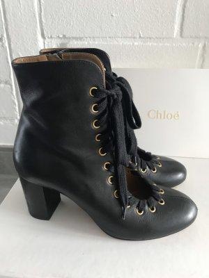 Chloé Tronchetto nero Pelle