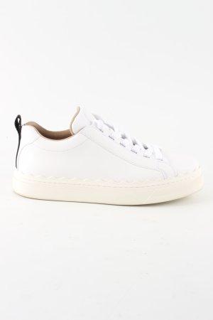 Chloé Sneakers met veters wit casual uitstraling