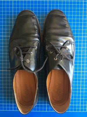Chloé Lace Shoes dark blue