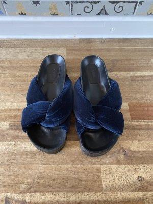 Chloé Wygodne sandały niebieski