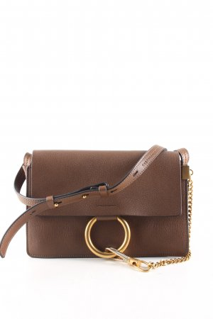 "Chloé Shoulder Bag ""Faye small"" brown"
