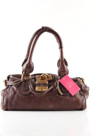 Chloé Shoulder Bag brown casual look