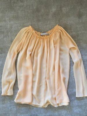Chloé Jedwabna bluzka nude