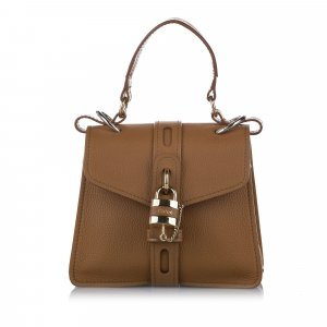Chloe Small Aby Leather Satchel