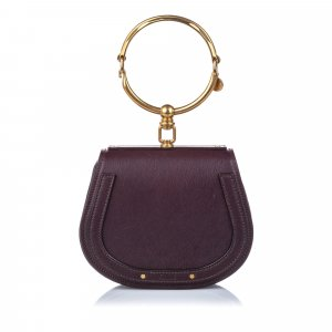 Chloé Crossbody bag dark brown leather