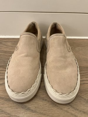 Chloé Slip-on Shoes cream-nude