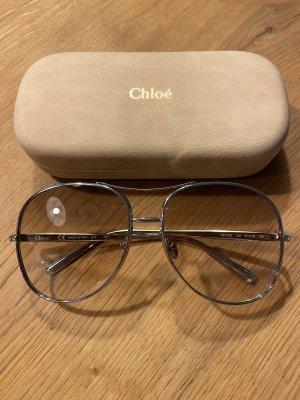 Chloé Okulary pilotki złoto