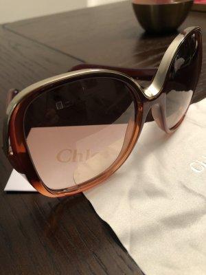 Chloé Gafas Retro marrón-color oro