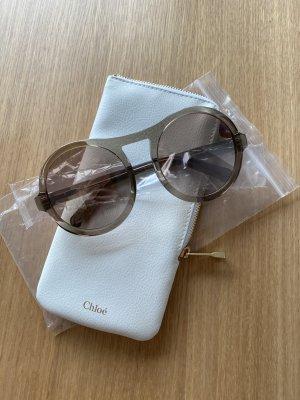 Chloé Okrągłe okulary przeciwsłoneczne brązowy-jasnobrązowy