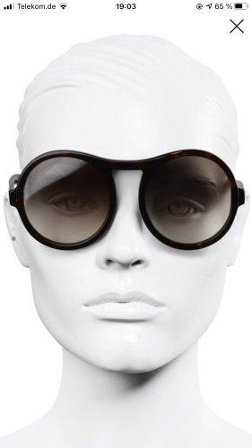 Chloé Okrągłe okulary przeciwsłoneczne czarny Poliakryl