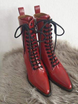 Chloé Buty na obcasie czerwony