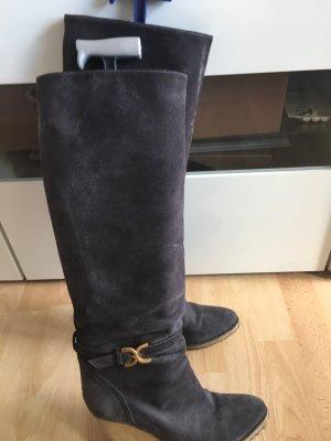 Chloé Stiefel in Grau 40