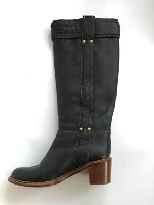 Chloé Jackboots black leather
