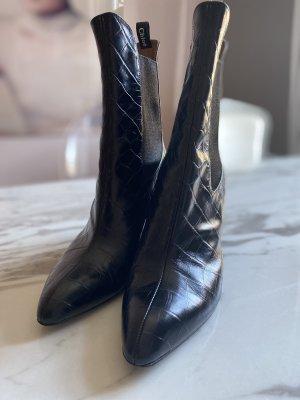 Chloé Slip-on Booties black