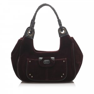 Chloe Suede Shoulder Bag