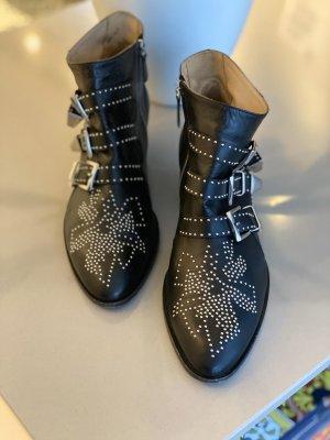 Chloé Susanna Boots Silber