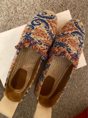 Chloé Espadrille Sandals multicolored