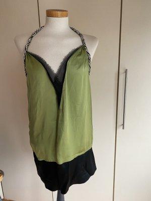 Chloé Halter Top black-green