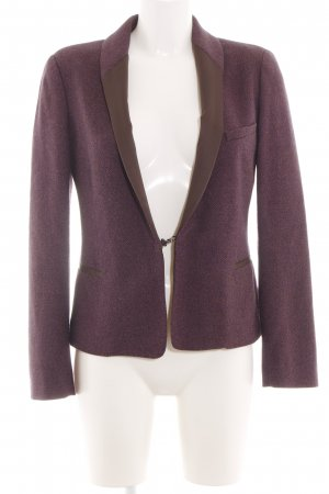 Chloé Tweedblazer lila meliert Business-Look