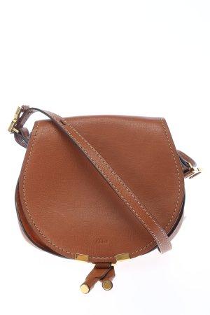 Chloé Borsa a spalla marrone stile casual