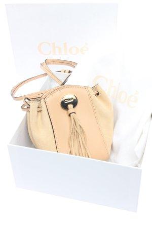 Chloé Borsa a spalla crema stile casual