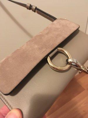 Chloé Sac bandoulière gris cuir