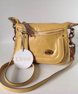 CHLOE` Umhängetasche in Gelb