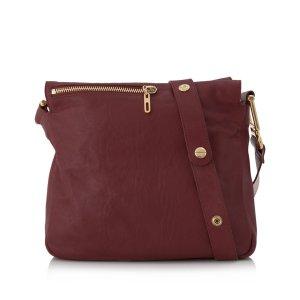 Chloé Crossbody bag dark red leather
