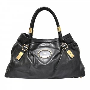 Chloe Victoria Leather Handbag