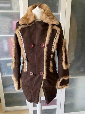 Chloe Vintage Fake Fur Jacke Gr 36
