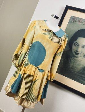 Chloé Vintage Seidenkleid Gr.34/36 Kleid Sommerkleid