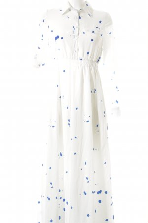 Choies Maxi Dress white-steel blue