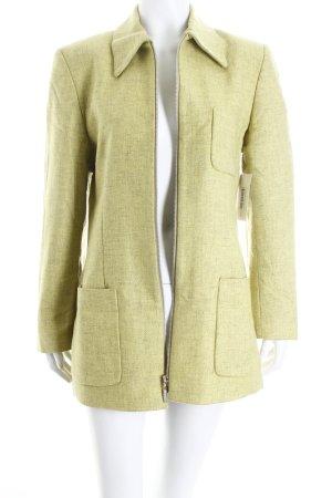 Choise by Danwear Długa marynarka zielona łąka W stylu casual