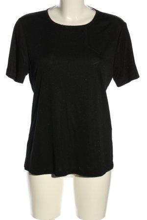 Choise by Danwear T-shirt czarny Warkoczowy wzór W stylu casual
