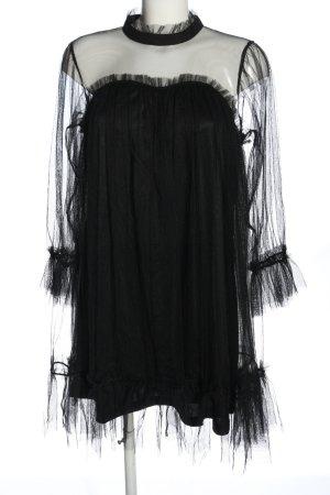 Choklate Sukienka z długim rękawem czarny Elegancki
