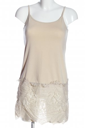 Choklate Strappy Top nude weave pattern casual look