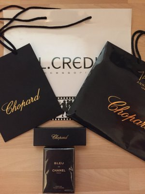 Chopard Burlap Bag white-black