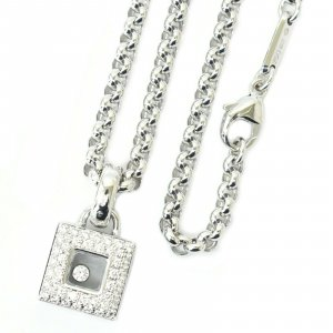 Chopard Necklace silver-colored real gold
