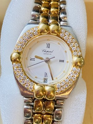 Chopard Analog Watch gold-colored-silver-colored