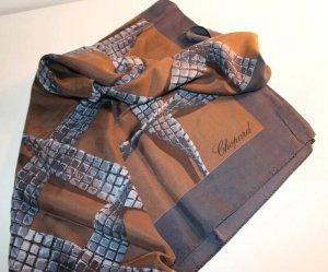 Chopard Écharpe en soie multicolore soie
