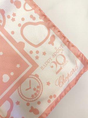 Chopard Silk Scarf pink