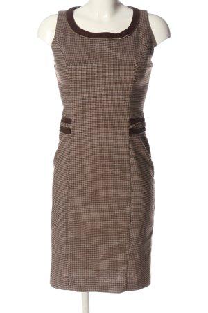 Chopin Roma Sheath Dress cream-brown allover print casual look
