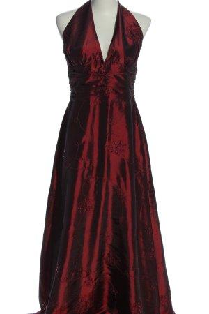 Chou Chou Suknia wieczorowa czerwony Wzór w kwiaty Elegancki
