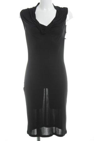 Chou Chou Abendkleid schwarz Casual-Look
