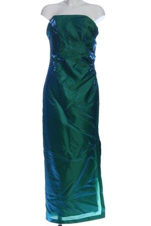 Chou Chou Ballkleid grün-blau Elegant
