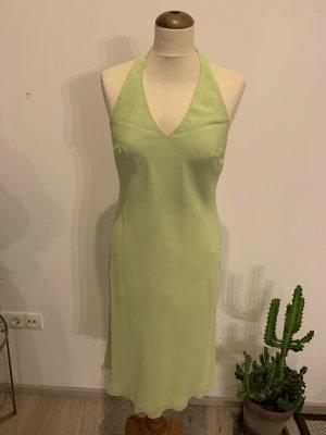 Chou Chou Vestido de cuello Halter verde claro-verde pálido